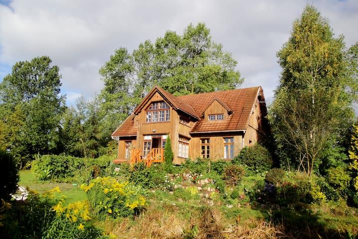 Ferien in der Kaschubei - Borzestowska Huta - Haus