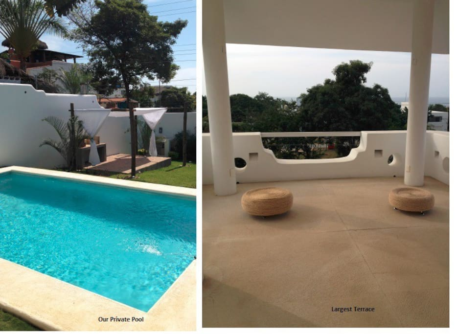 Pool and Terraces!