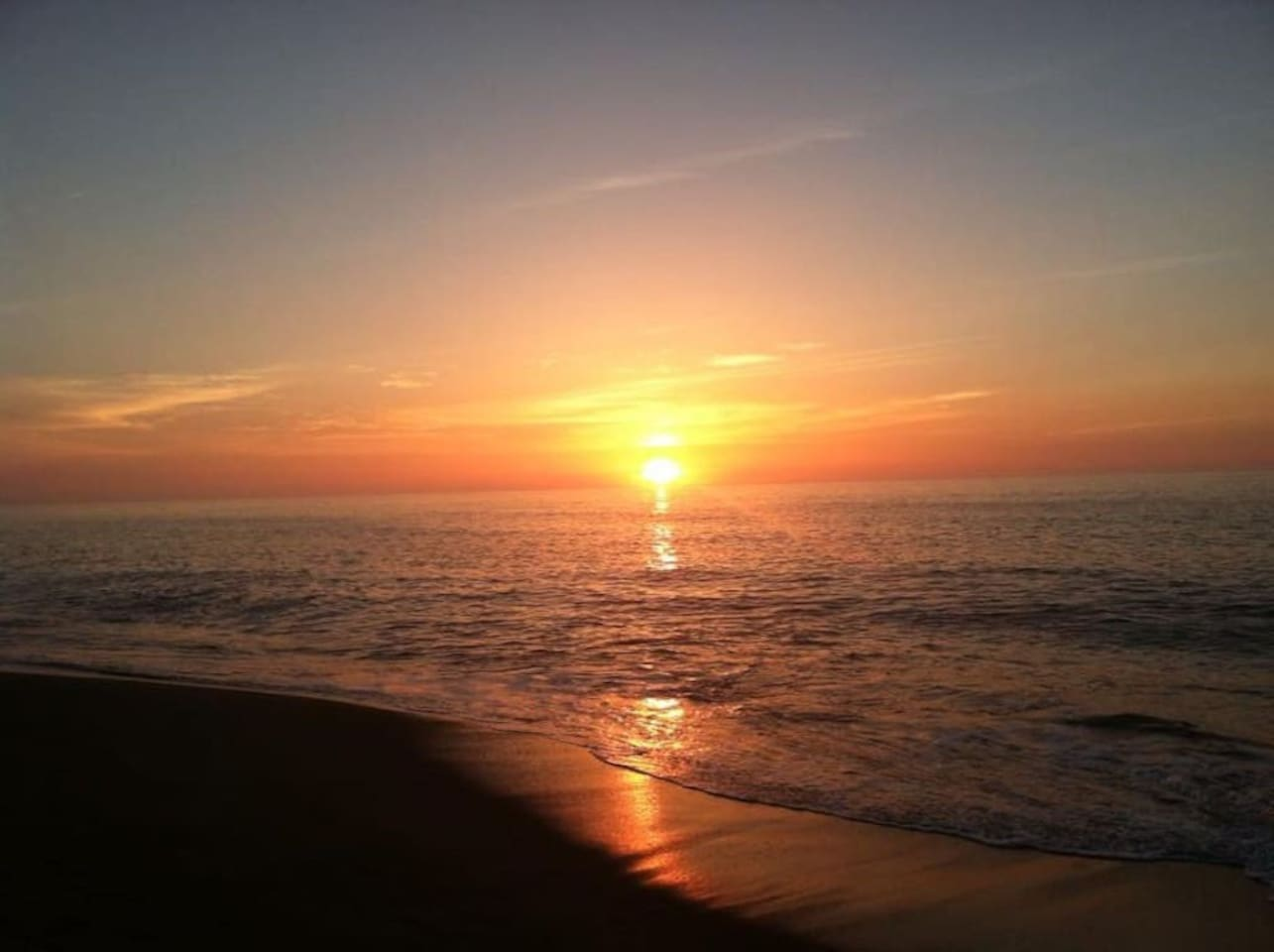 Plum Island ocean sunrise