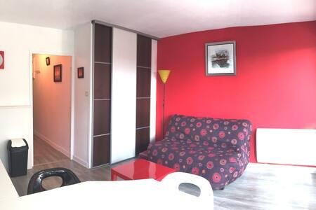 Joli studio avec balcon, 200m plage - Bénodet - 公寓