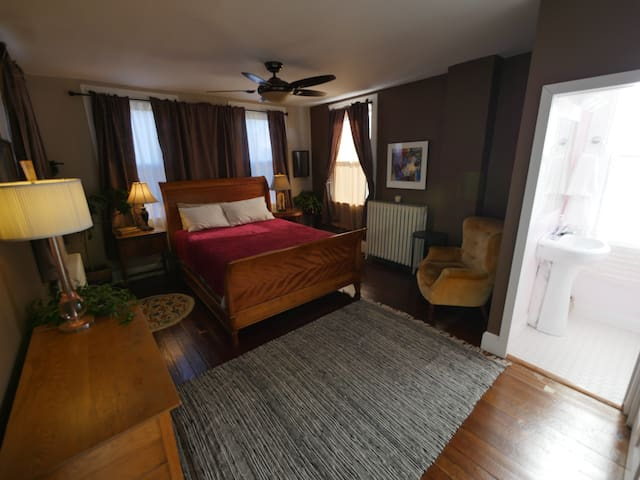 Downtown Historic Guest Suite and Garden - Lancaster - Casa