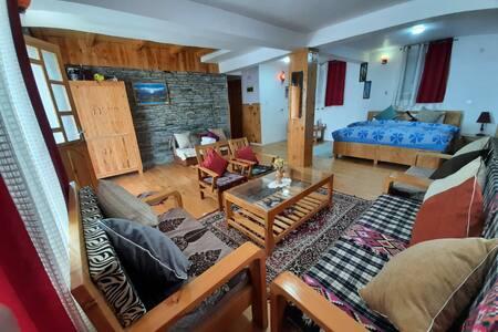 Ishan log huts (will take you close to the nature)