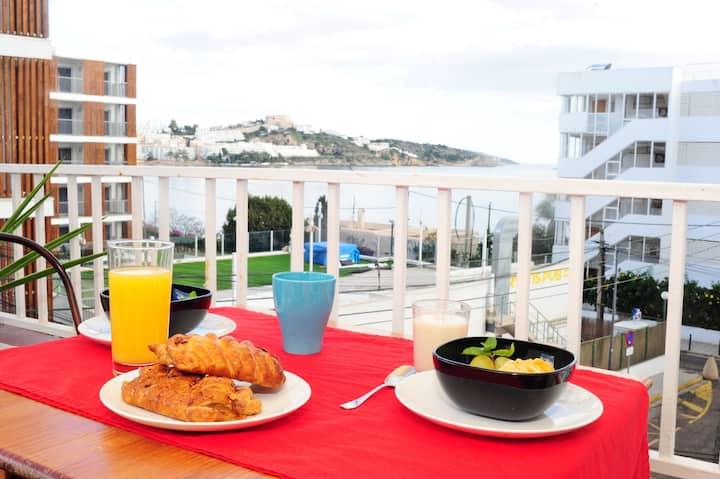 Ibiza seaview chic apartament