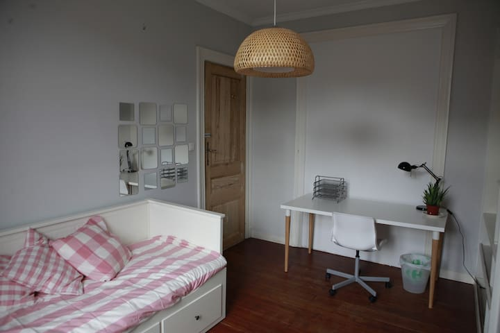 Room in a friendly shared house (4) - Schaerbeek - Rumah