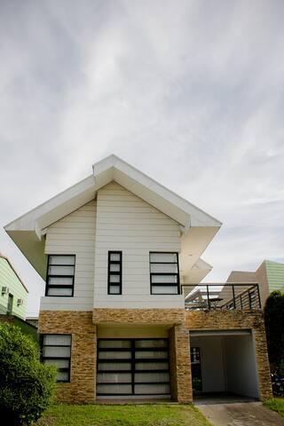 Villa 208 inside Enclave subd.