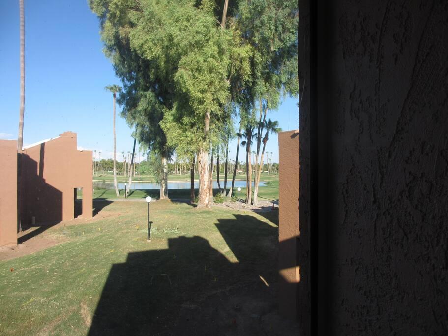 Lake & Golf View