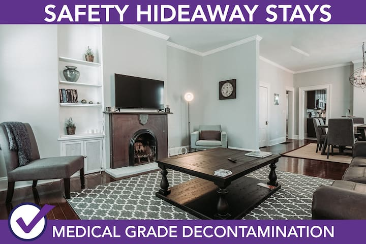 Safety Hideaway - Medical Grade Clean Home 17