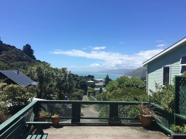 Amazing views in Pukerua Bay