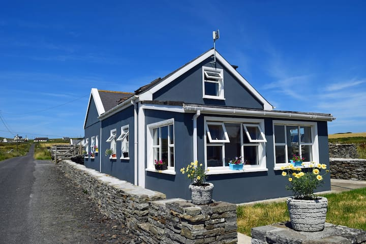 BallyV House. Newly renovated. Interior finished. This is coming from Lahinch or Liscannor.