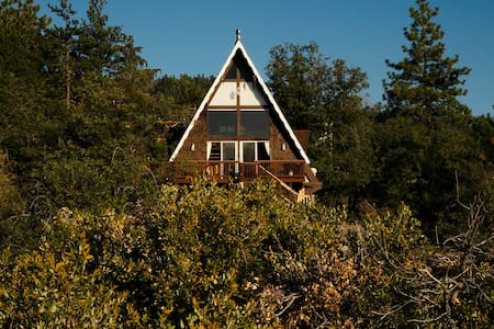 A-Frame in the Forest-Secluded feel. Perfect Spot!