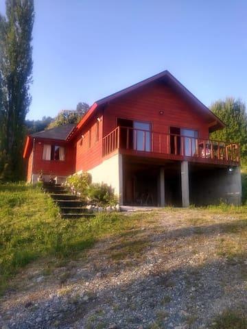 Casa Futrono, vista al lago