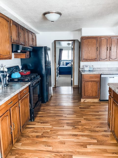 Two bedroom private McMillian street home