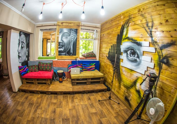 Private room in Loco Hostel - Almaty