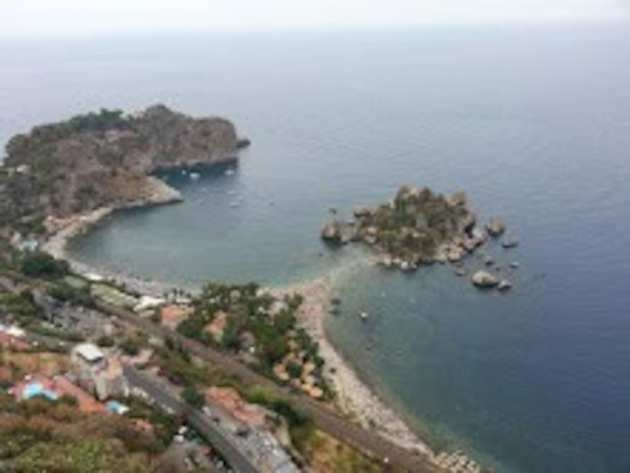 la vicina Isola Bella