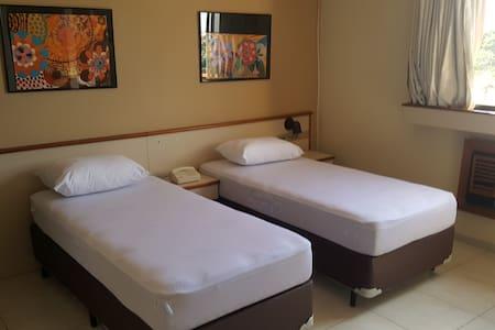 Flat no Centro de Itú, segurança e conforto! Mak2