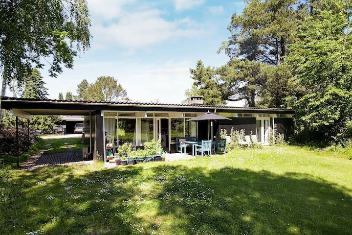 Spaziosa casa vacanze a Hovedstaden con terrazza