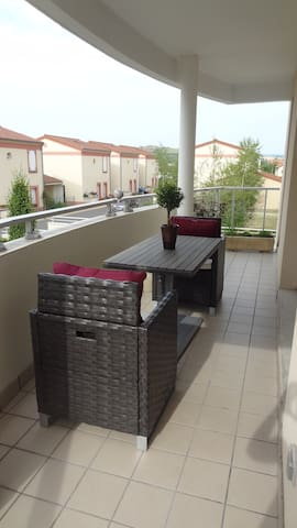 Beautiful quiet & bright apartment - Issoire - Apartemen