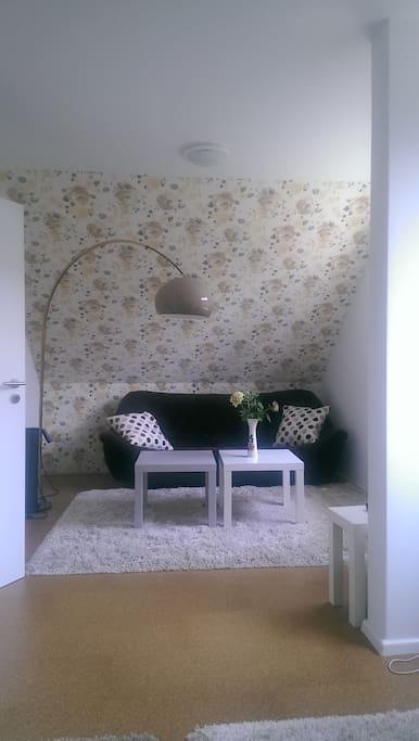 ...und einer Couch