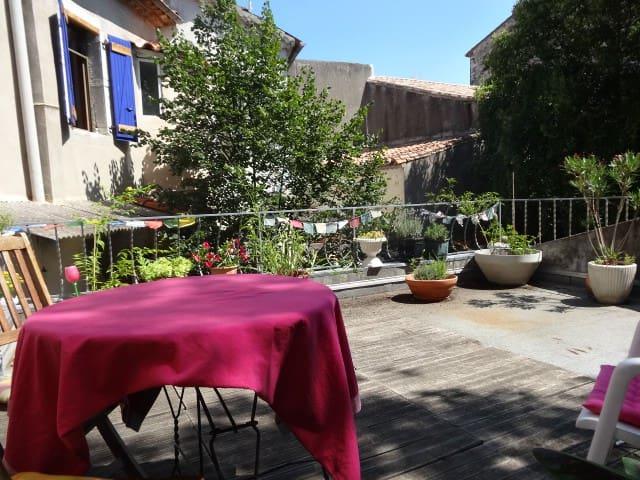 Maison de village en bord d'Hérault - Saint-Bauzille-de-Putois