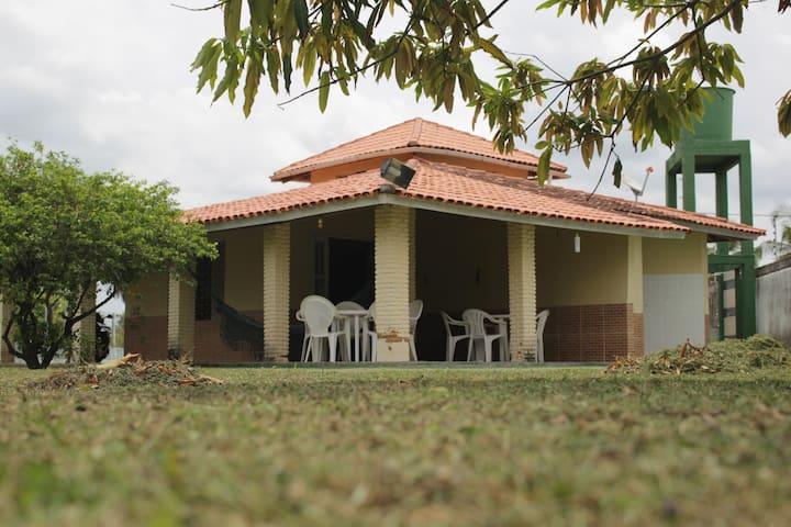 Casa de Praia à Beira-Mar - Itaparica - Rumah