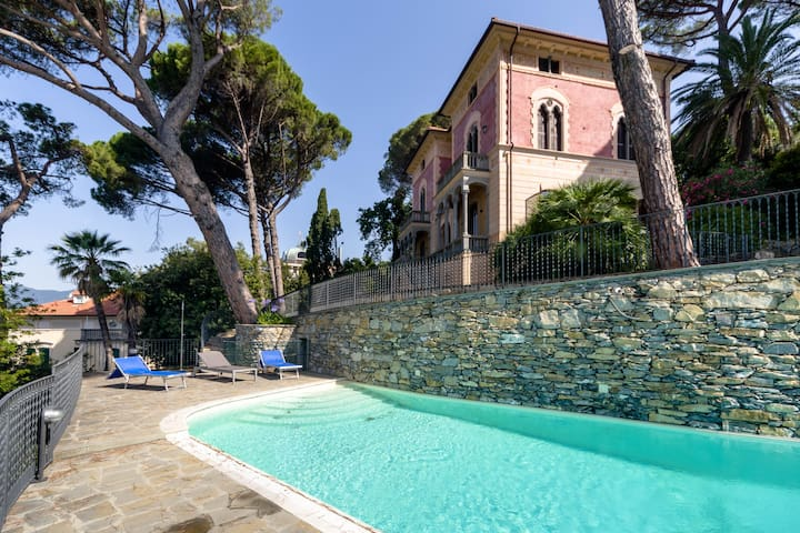 Villa Edoardo garden and pool ap 1