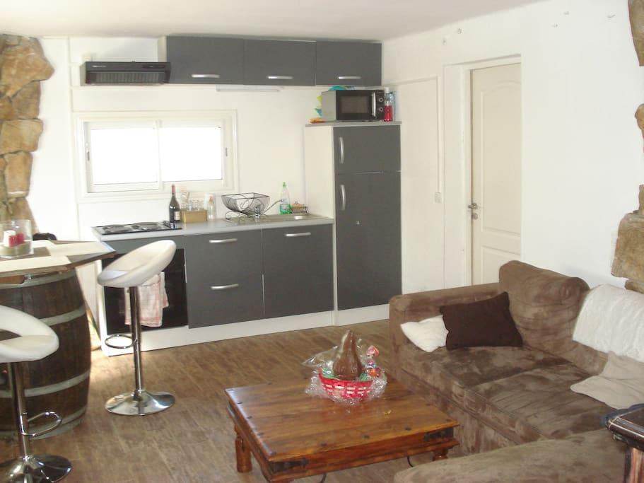 appartement sous villa maisons louer vescovato corse france. Black Bedroom Furniture Sets. Home Design Ideas