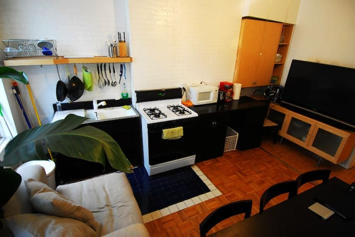 This Is The Kitchen That You Are Free To Use.