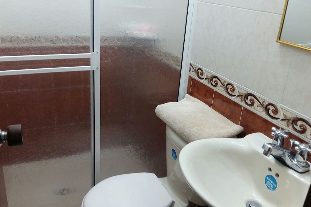 Baño de habitación privado