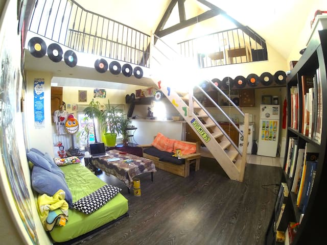Grand Loft - Breteuil - Apartment