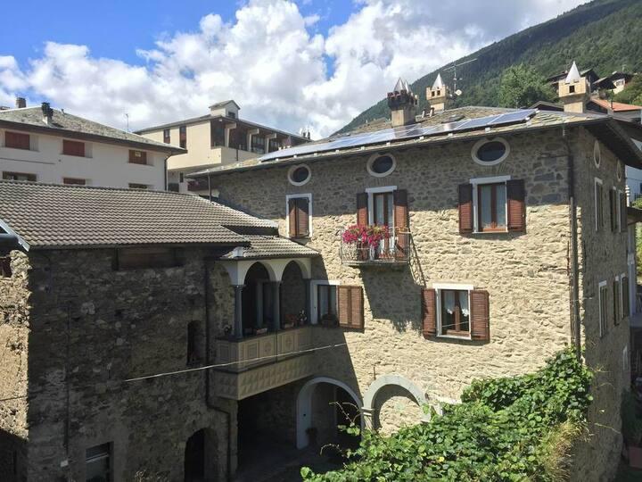 Casa Taralin - Camera delle Magnolie