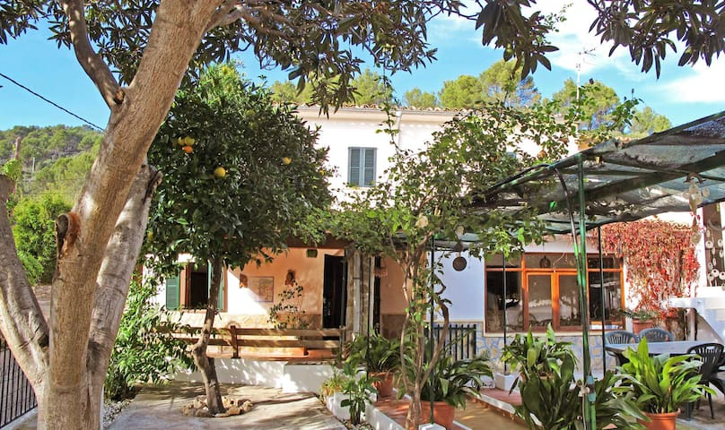 Acogedora casa en Serra Tramuntana .