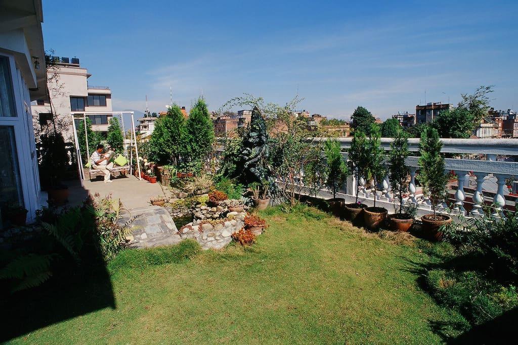 Terrace Garden of Royal Suite