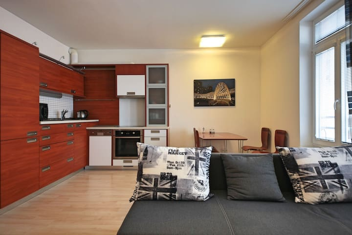 Luxury apartment Andel, centre of Prague - Prague - Appartement