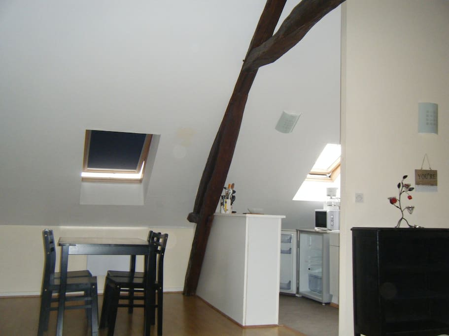 charmant appartement meubl appartamenti in affitto a sainte savine champagne ardenne francia. Black Bedroom Furniture Sets. Home Design Ideas