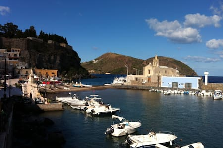 Eolian Duplex Apartment at Lipari