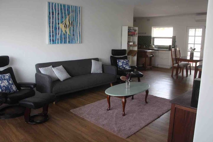 Dog friendly beach side unit opposite amazing park