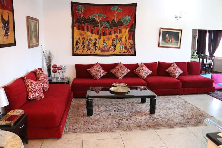 Luxueux appartement 110m2 au calme
