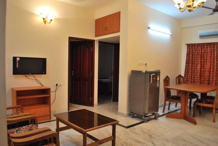 Luxurious Three Bedroom Flat, Velachery, Chennai.