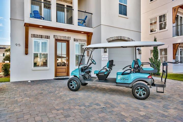 Emerald Dream ~ Luxe Villa ~ 6 Person Golf Cart