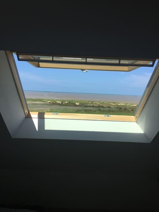 vue des chambres