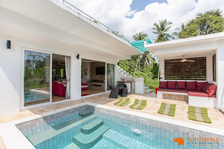 4BR Modern Villa+Private Pool - CHAWENG