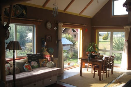 Cosy eco-house near native Forest - Owhango - 独立屋