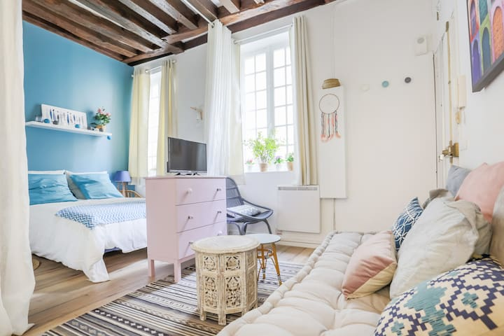 MARAIS - HEART OF PARIS - COZY APARTMENT - 3 PEOPLE