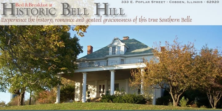 Bell Hill, the Downton Abbey of Southern Illinois