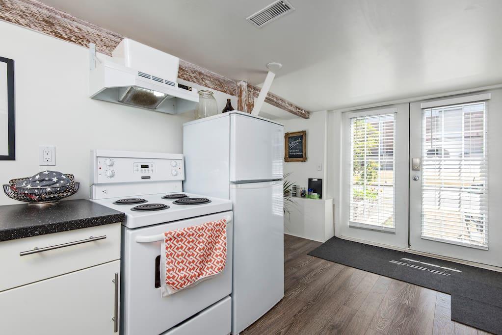 Bright kitchen...