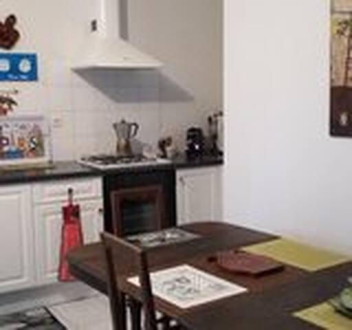 Chambre privée dans appartement F3 récent