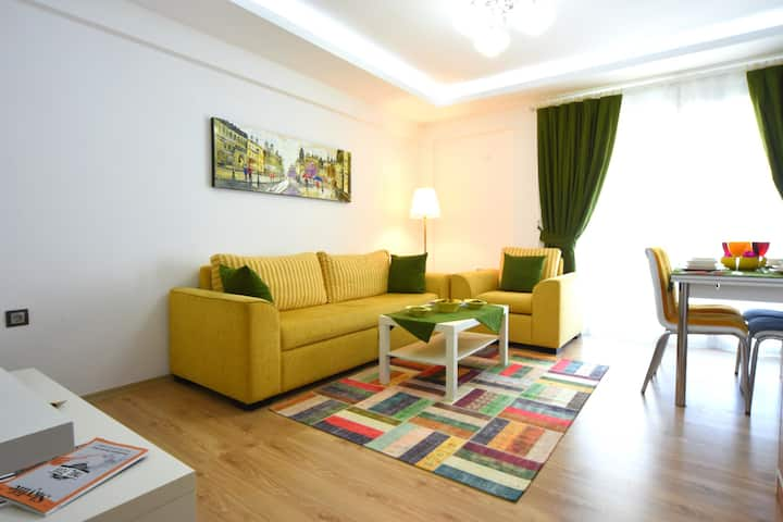 Likya Garden Residence -Luxury 1 Bedroom Apartment