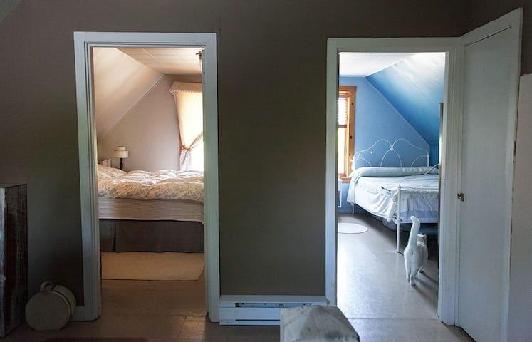 Choisisez votre chambre à l'arrivée