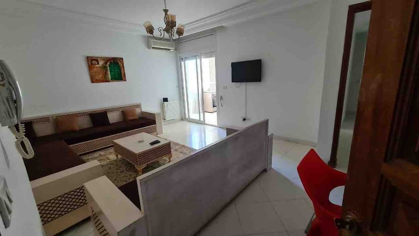 A very nice high standing apartment in Ennasr city