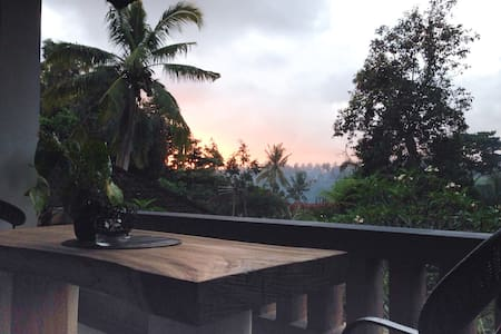 Home with beautiful view near Ubud - Ubud - Apartment
